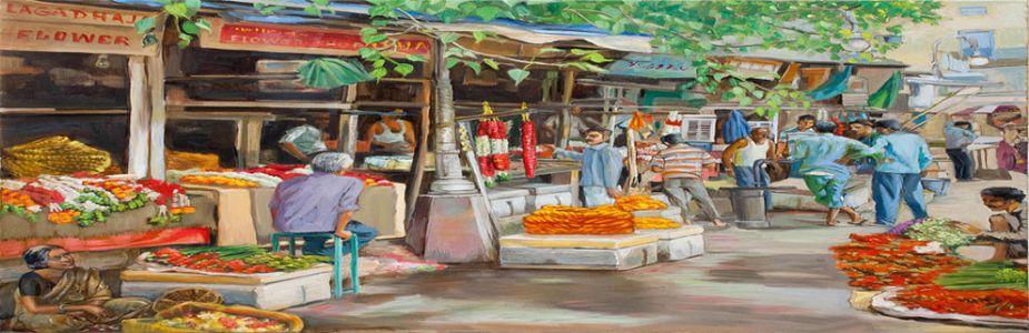 रवींद्रनाथांची एक कविता : बाजार